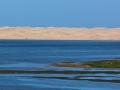 dunes on sea